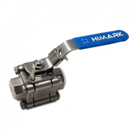 3B – 2000 PSIG Stainless Steel Ball Valve