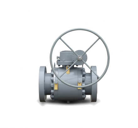 3-Piece Trunnion Mounted Ball Valve