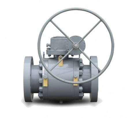 Elastomeric Seat Trunnion Ball Valve