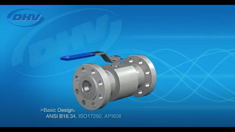 1 Piece Floating Ball Valve